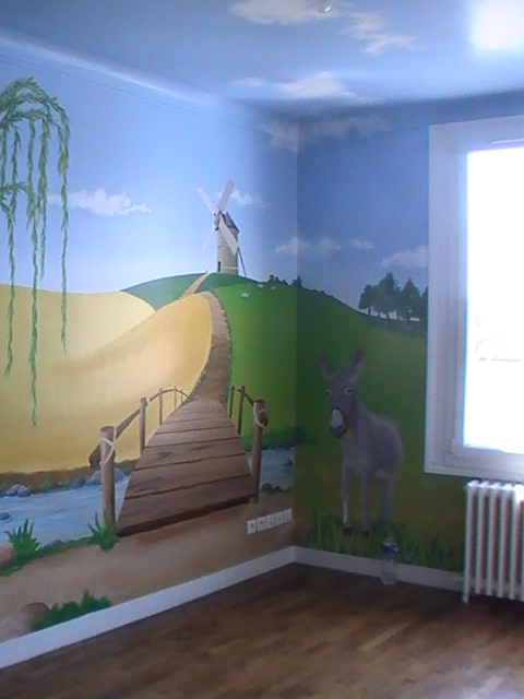 D co d 39 une chambre d 39 enfant mat 39 lo d co for Peinture chambre d enfant